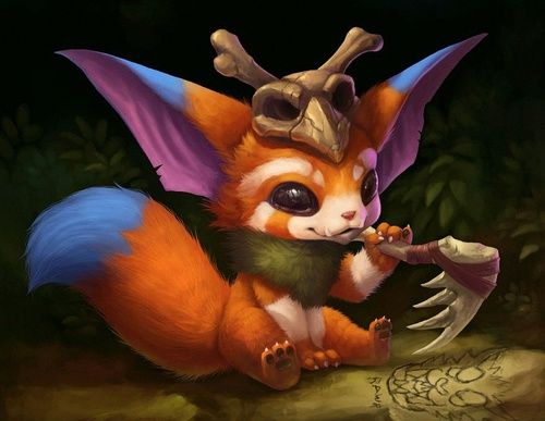 grafika gnar and league of legends