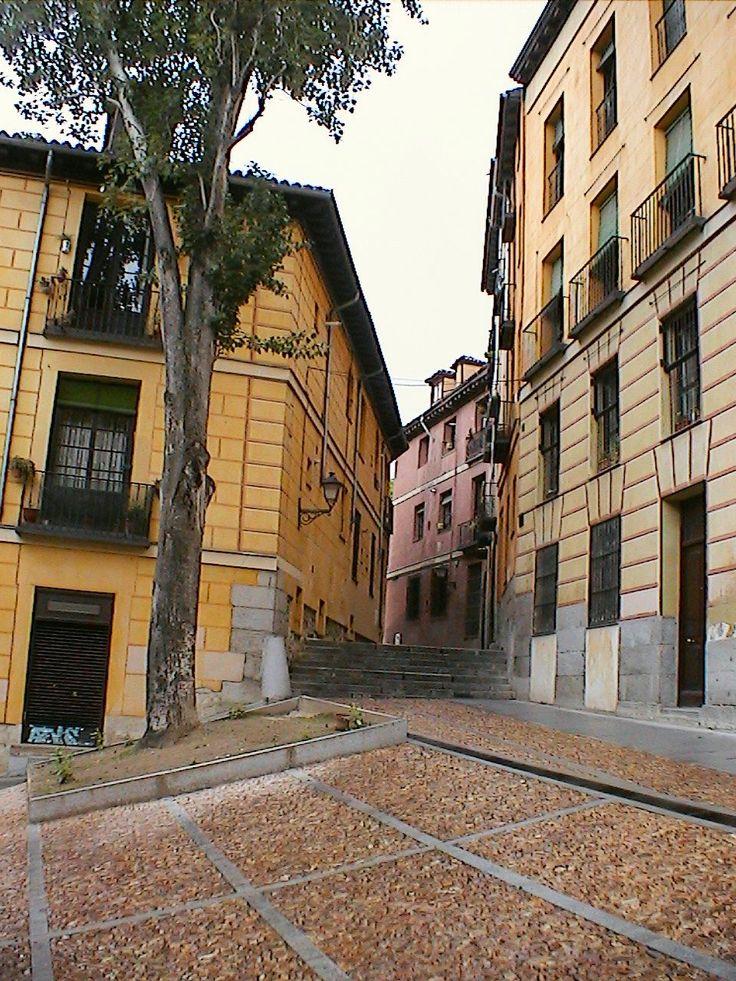 Street corner 1 in Madrid, Spain