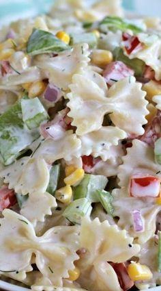 Summer Garden Pasta Salad