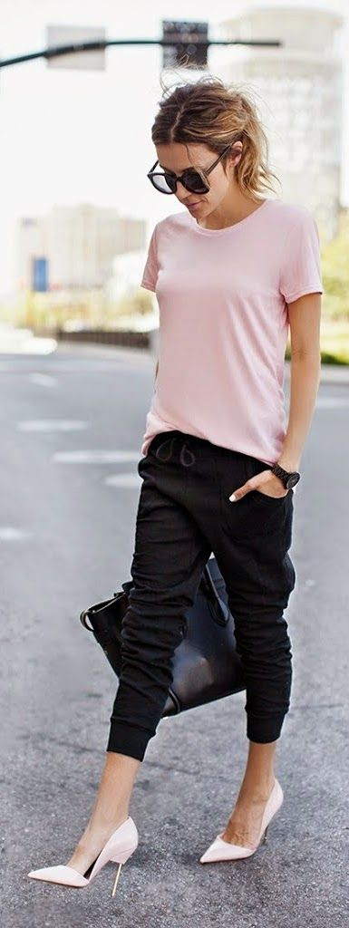 Dying for dressy joggers