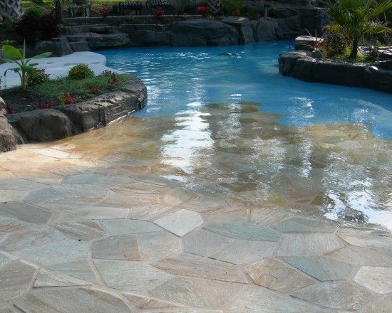 Love the walk in!!!  Tropical Pool Design, Pictures, Remodel, Decor and Ideas - page 2