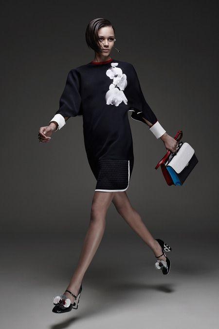 Fendi | Cruise/Resort 2015 Collection via  Karl Lagerfeld & Silvia Venturini Fendi | Modeled by Binx Walton | Milan; May 28, 2014 | Style.com
