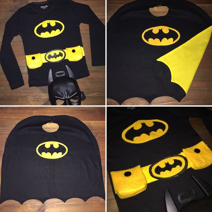 Diy Batman costume, for my 2 year old grandson Phillip..❤️ Tshirt, Cape and belt.