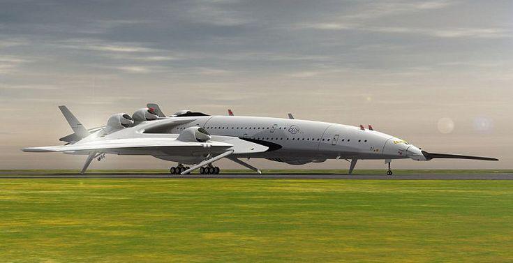Дизайнер Оскар Виналс создал концепт сверхзвукового пассажирского лайнера, который напоминает птицу или футуристичный космический корабль и может пересечь Атлантический океан менее чем за три часа