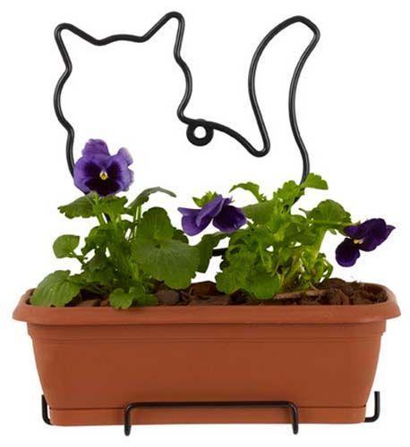 Oltre 1000 idee su appendere vasi di fiori su pinterest - Portavaso da parete ...