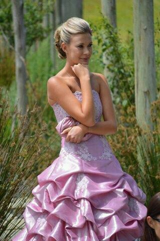 Pink Dress by Brenda Waring. Whatevs designs.  Contact Brenda on 0726086399