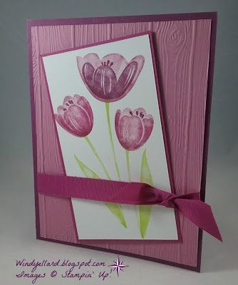 PP352 Sweet Rich Berry Tulips!