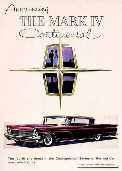 Lincoln Continental, 1958