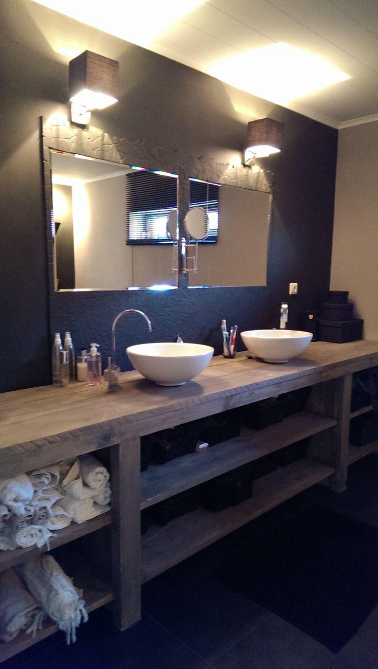badkamermeubel steigerhout