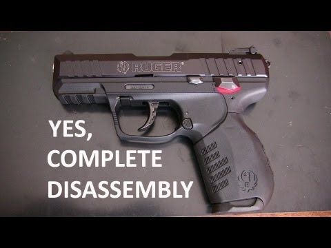 Ruger SR 22 Complete Disassembly - YouTube