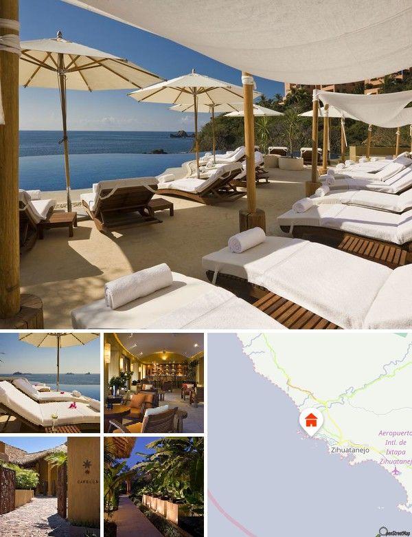Este hotel de playa se encuentra a unos 3 km de la moderna zona turística de Ixtapa y el pueblo tradicional de Zihuatanejo queda a solo 10 minutos en coche. Los huéspedes podrán llegar a la playa caminando apenas 5 minutos y encontrarán locales de entretenimiento cerca. Este complejo tipo club está aproximadamente a 25 minutos del aeropuerto.