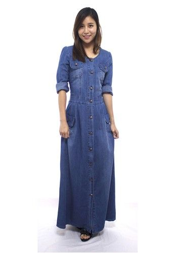 Maxi dress denim malaysia today