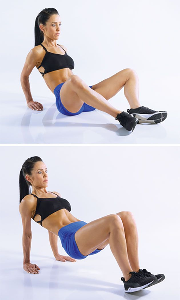 An upper-body blaster that also tones your inner thighs and glutes? Sign us up!