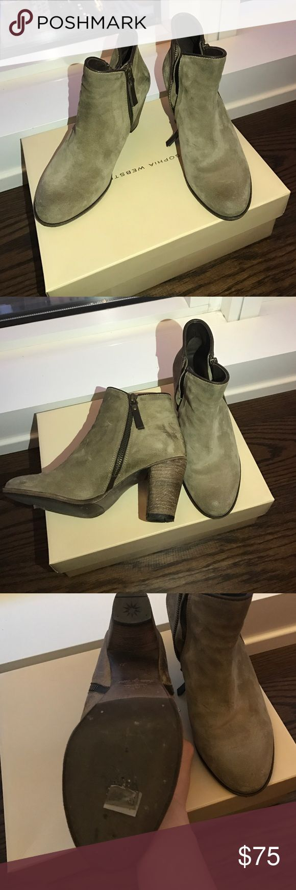 NDC ankle boots US 5 Almost new. Suede leather & handmade. I have only wore them once. Will be shipped in double boxes. ndc Shoes Ankle Boots & Booties