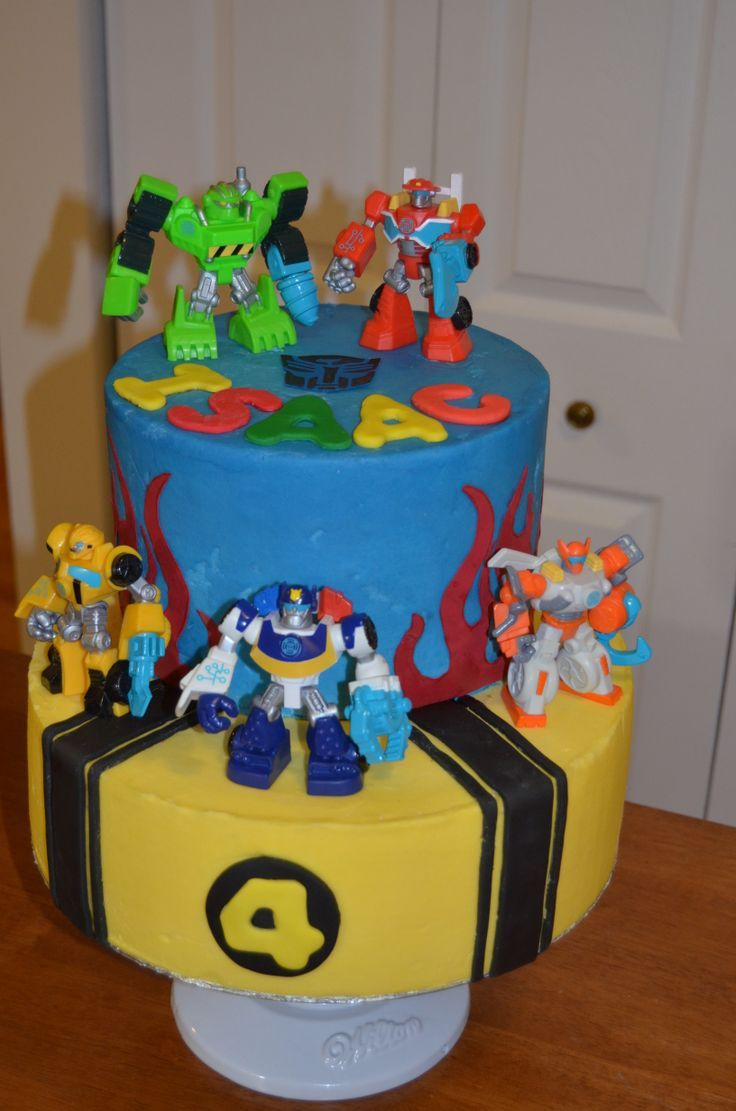 rescue bots birthday cakes  Transformers Rescue Bots cake