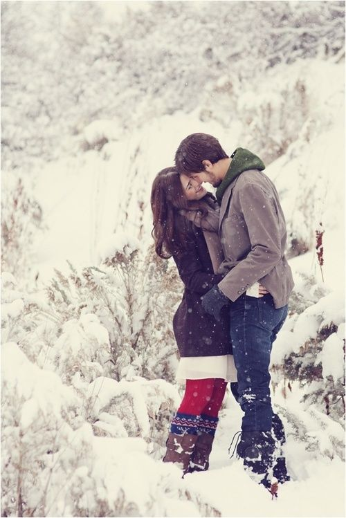 SNOWY #Love #Couple