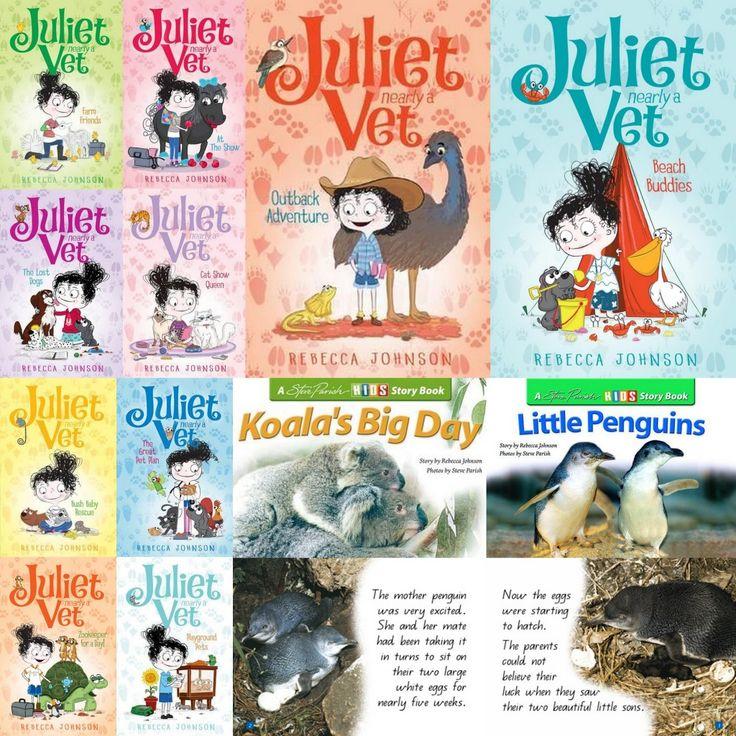 Book People: Rebecca Johnson  - Children's Books Daily