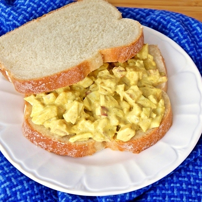 Curry Egg Salad | Salads | Pinterest