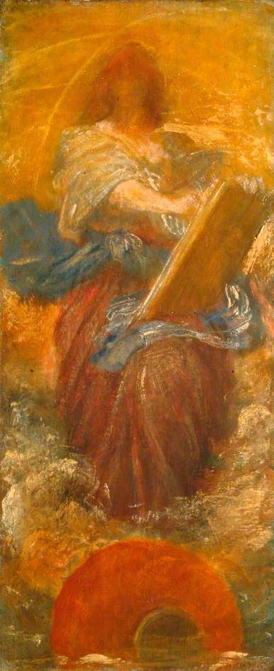 Recording Angel by George Frederic Watts, 1888