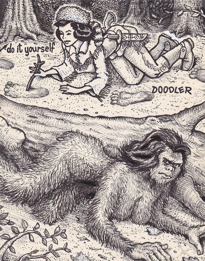 25 best doodler images by enrique blanco rodrguez on pinterest artist david jablow started the do it yourself doodler project when he was given a novelty notepad that had an incomplete outline of a solutioingenieria Choice Image