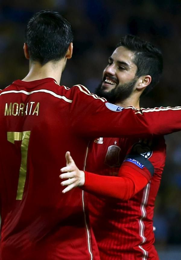 Álvaro Morata and Isco Alarcón - España Spain
