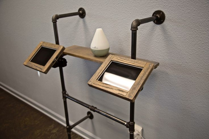 Patient Check-In Station. We custom built this industrial check-in station with…