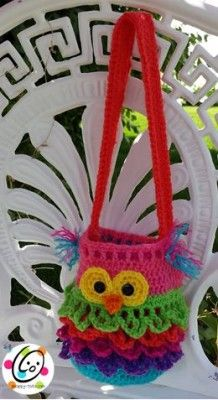 Owl Container Crochet Pattern. Free pattern