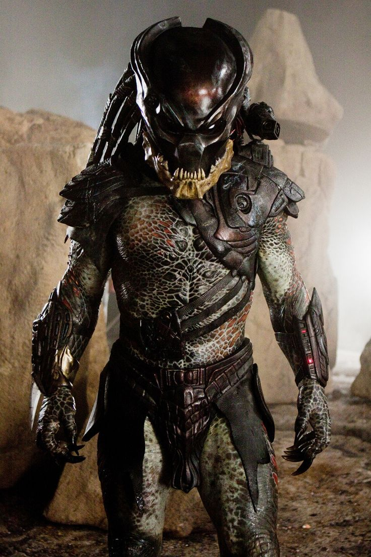 Black Super Predator // Predator Berserker. My favorite Predator of them all... Robert Rodriguez: Predators (2010)