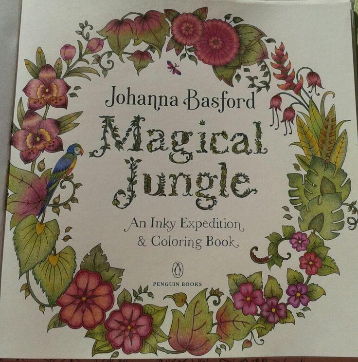 Johanna Basford-Magical Jungle-Picture by  Gyöngyi Varga.