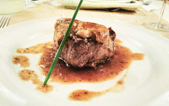 Turnedo de vita angus cu foie gras