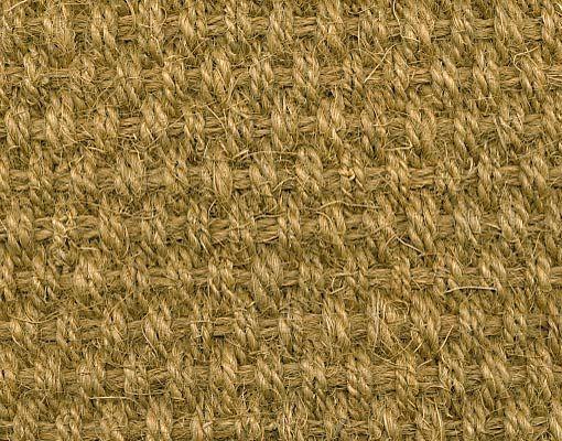 """Kokos vloerbedekking """"Unicolor"""". Comfortabel en ijzersterk, karakteristiek en met gevoel voor design. Geschikt voor bijvoorbeeld de woonkamer of slaapkamer."""