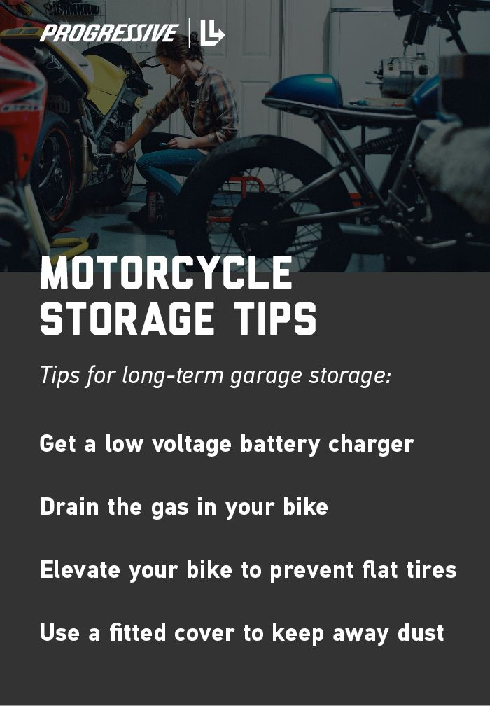 Motorcycle Storage Tips Motorcycle Storage Storage Outdoor