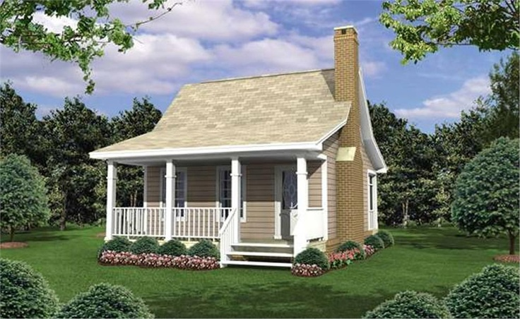 Cute little house dream home pinterest to be home for Guest house models