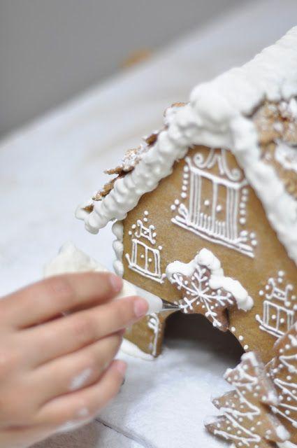 Casa de jengibre - Gingerbread house