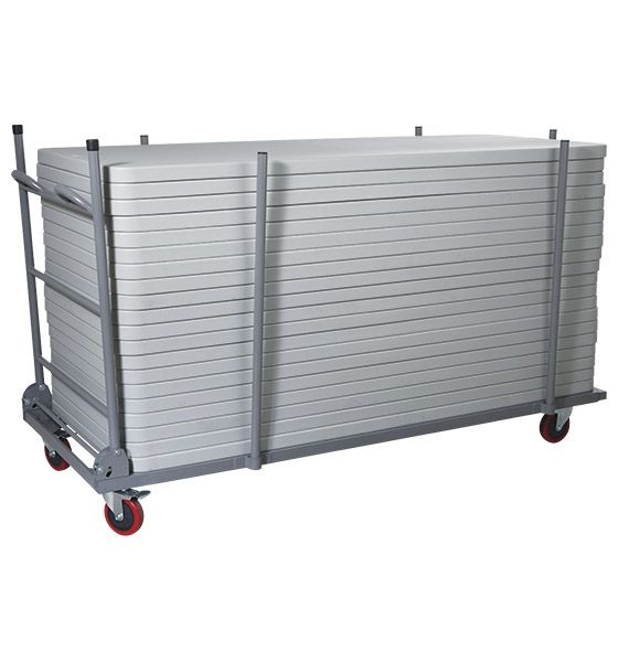 Rectangle Folding Table Cart-Transporter for 72' & 96' Long Tables