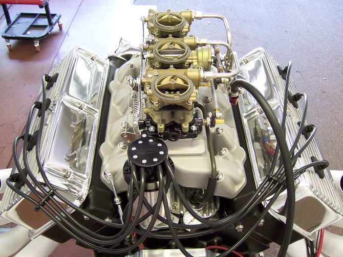 Early Hemi Engines