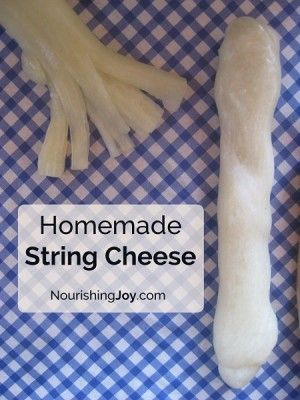 The Homestead Survival | How To Make Homemade Mozzarella String Cheese Recipe | Homesteading - http://thehomesteadsurvival.com