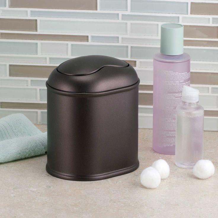 best 25 bathroom trash cans ideas on pinterest cabinet trash can diy hidden trash can and. Black Bedroom Furniture Sets. Home Design Ideas