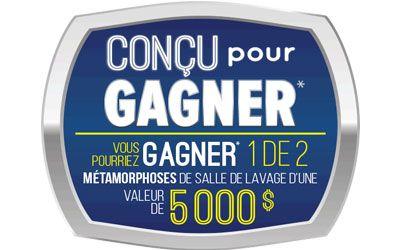 Ensemble laveuse-sécheuse et chèque de 3000 $ | Québec Gratuit