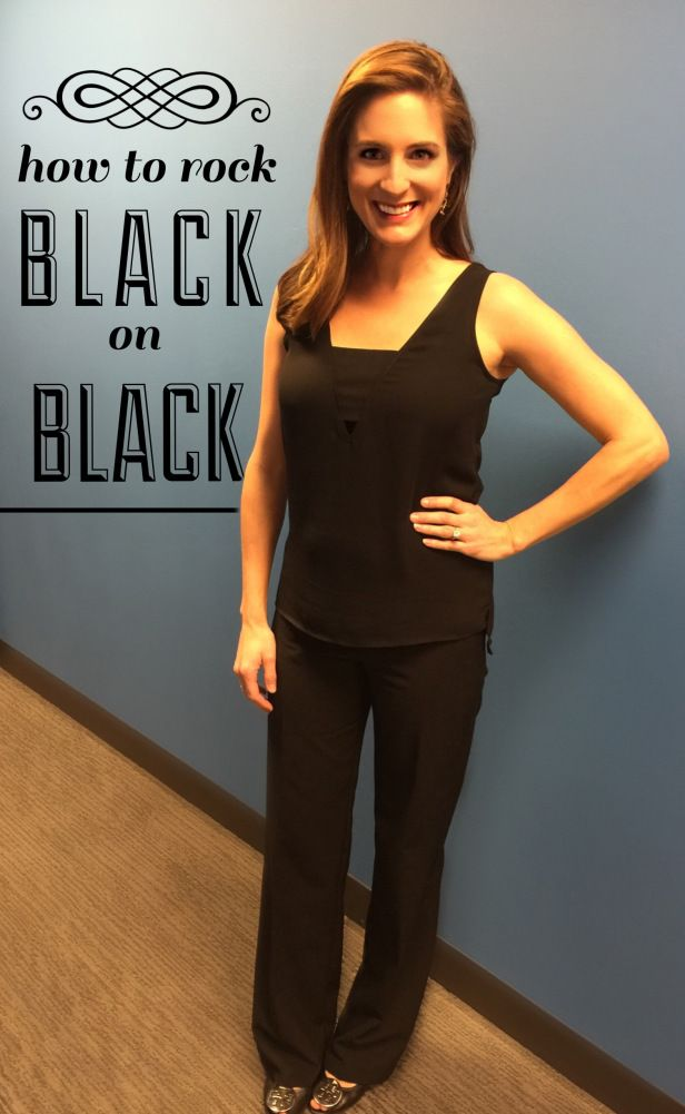 Heather Catlin (@hcat) from Hot Topics showing us the best way to wear black on black. We love it and you will too! #Fashion #MaternityStyle