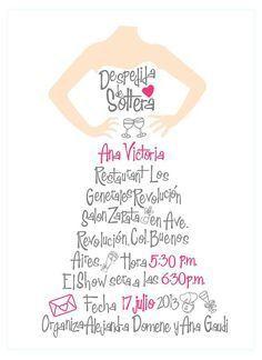 despedida de soltera!! | Invitaciones para la boda!! | Pinterest | Casamento, Invitations and Originals