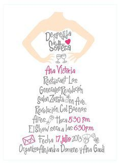 despedida de soltera!! | Invitaciones para la boda!! | Pinterest | Casamento, Invitations and Originals