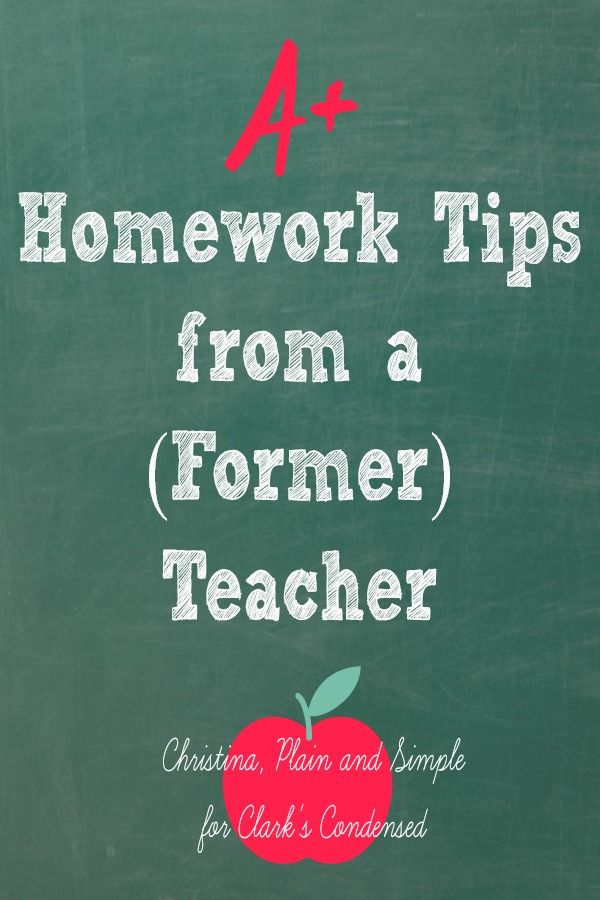 Take a look at these homework tips for you to get involved in the action and make sure your child is getting the most out of his or her school work.