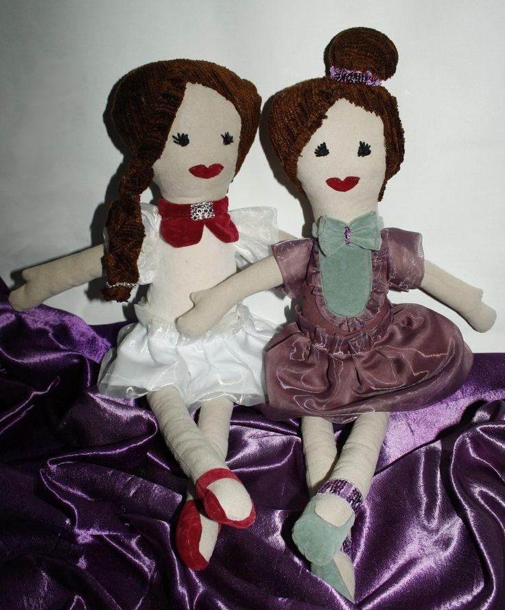 Szmaciane baletnice beeba.pl Zuzanna baletnica oraz Celina wiecznie na diecie:)