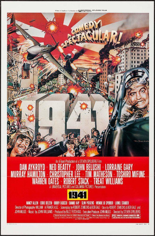 1941 (1979) IMDb Movie posters, Vintage movies