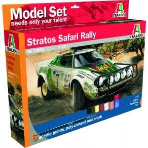 Lancia Stratos Safari Rally - Model Set - 1:24