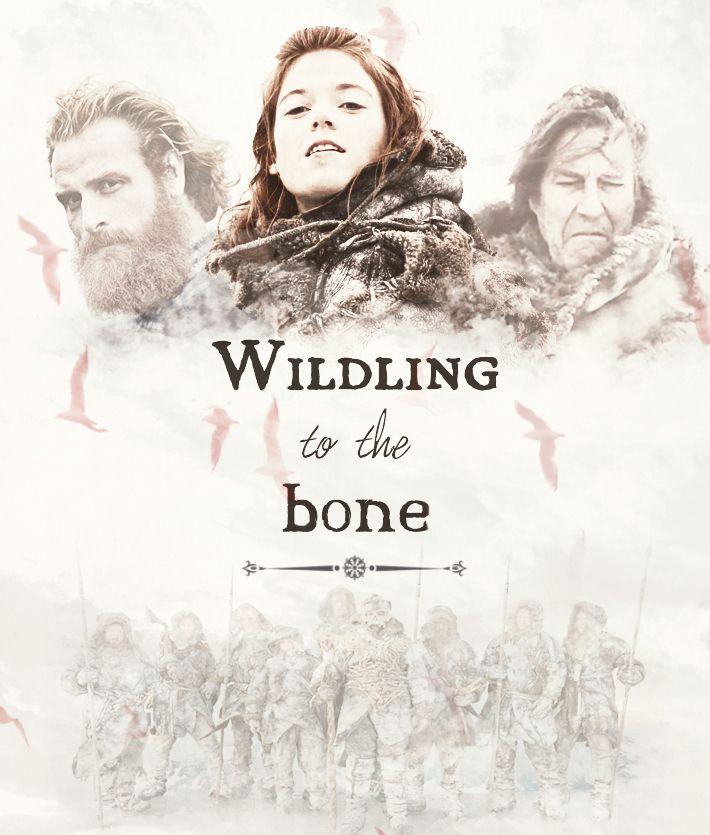 Game of Thrones Tormund Giantsbane, Ygritte & Mance Rayder