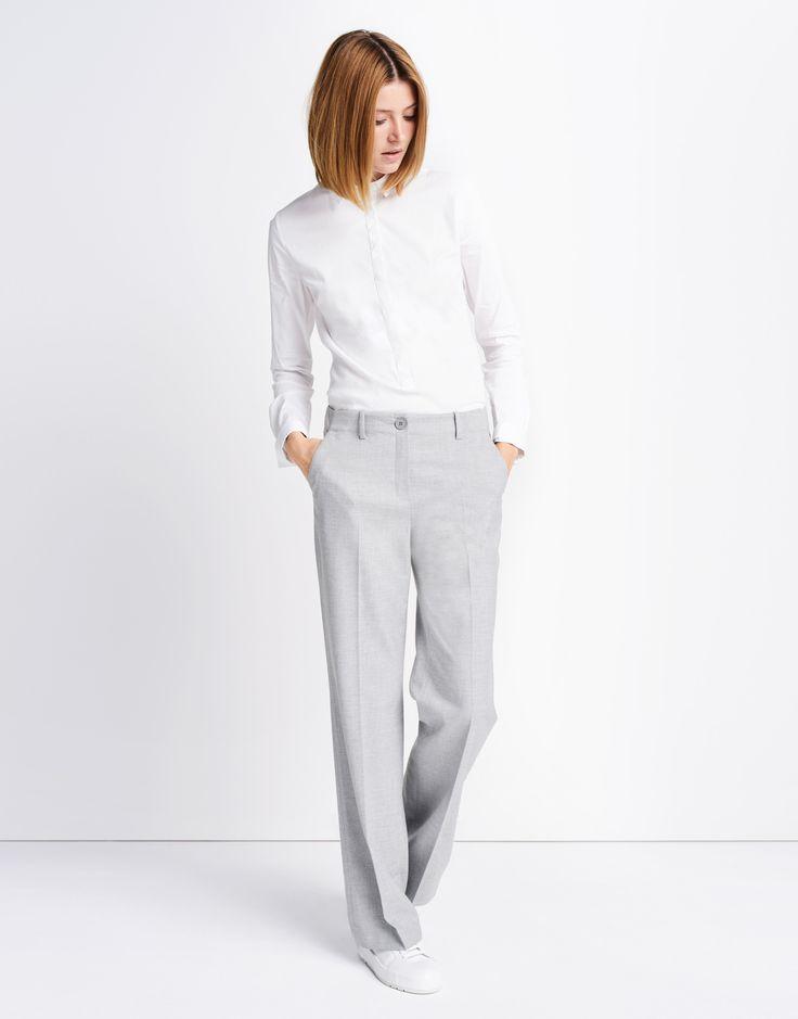 Marlene Hose grau online kaufen | Chanti dull grey von someday Fashion