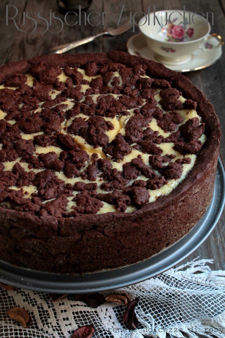Questa versione della cheesecake tutta tedesca curiosamente ha un nome che invece fa riferimento alla Russia anche se russa non è affa...