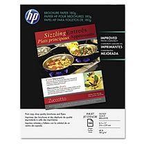 "HP - Brochure Paper, Inkjet, 48lb, 8-1/2 x 11"", Glossy - 150 Sheets"